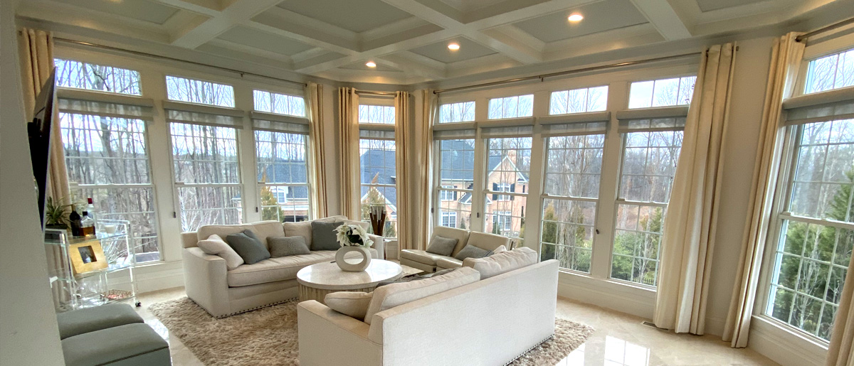 living room with full view