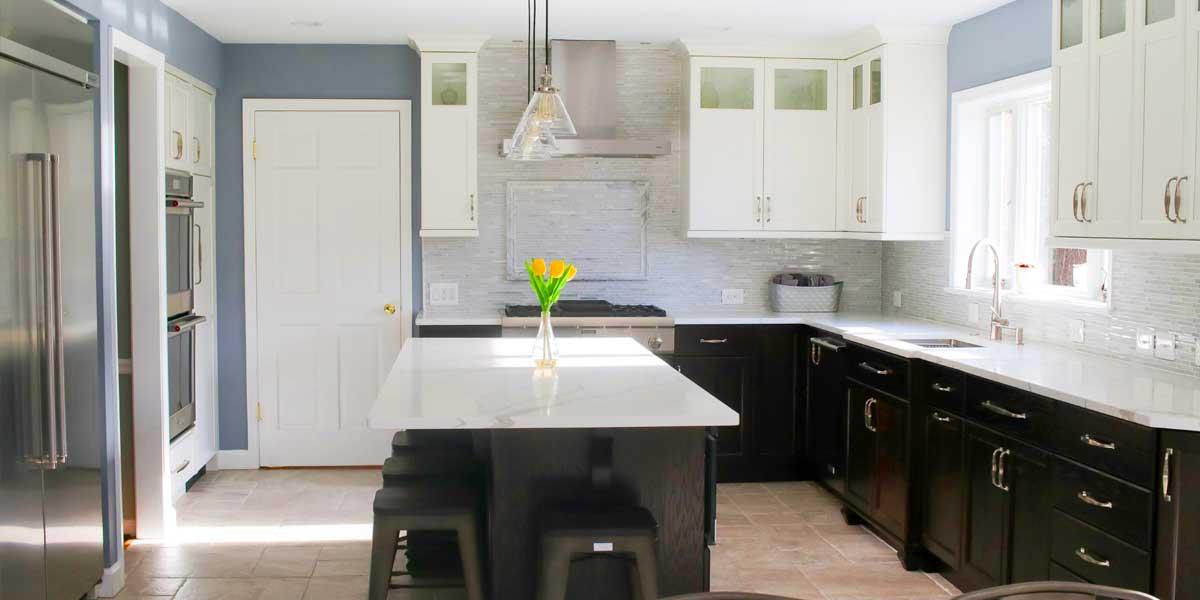 airy kitchen design
