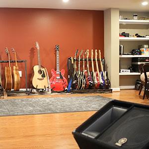 instruments room